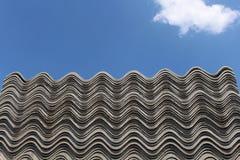 Telhado do asbesto Imagens de Stock Royalty Free
