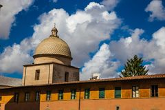 Telhado do Campo Santo - Pisa, Itália Fotos de Stock Royalty Free