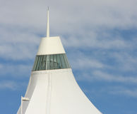 Telhado do International de Denver Foto de Stock Royalty Free