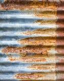 Telhado do metal do zinco Imagens de Stock