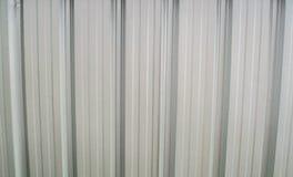 Telhado do metal na construção comercial Imagem de Stock