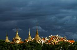 Telhado do palácio Imagens de Stock Royalty Free