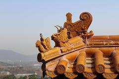 Telhado do palácio de verão Imagem de Stock