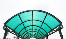Telhado do policarbonato imagens de stock