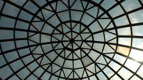 Telhado do salão da estação de Dorogozhichi, Kyiv, Ucrânia foto de stock royalty free