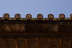 Telhado do santuário de Senjokaku imagens de stock royalty free
