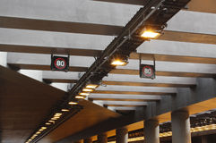 Telhado do túnel da maneira do legado, Brisbane Foto de Stock