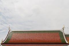 Telhado do templo Fotografia de Stock Royalty Free