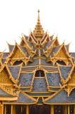 Telhado do templo budista Imagem de Stock Royalty Free