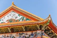 Telhado do templo budista Foto de Stock