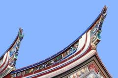 Telhado do templo de Cheng Hoon Teng, M Fotos de Stock