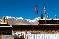 Telhado do templo de Kejiasi Imagem de Stock Royalty Free