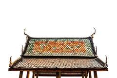 Telhado do templo, Tailândia Fotos de Stock