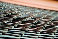 Telhado do templo, teste padrão do telhado Imagem de Stock Royalty Free
