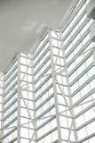 Telhado do vidro da geometria imagens de stock royalty free