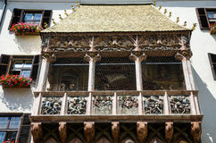 Telhado dourado de Innsbruck Imagens de Stock