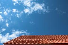 Telhado e céu Imagens de Stock Royalty Free