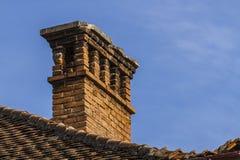 Telhado e janelas Fotografia de Stock Royalty Free