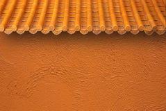 telhado e parede Imagem de Stock Royalty Free