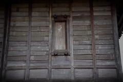 Telhado e parede de madeira Imagem de Stock Royalty Free