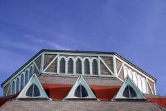 Telhado e Windows Fotos de Stock Royalty Free