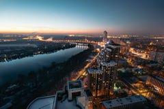 Telhado em Moscou Fotos de Stock Royalty Free