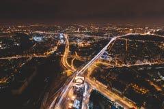 Telhado em Moscou Imagens de Stock Royalty Free