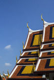 Telhado em Wat-phra-kaew Fotografia de Stock
