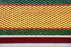 Telhado em Wat Po Foto de Stock