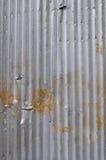 Telhado galvanizado do ferro Imagens de Stock Royalty Free