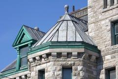Telhado histórico do aço da cúpula da construção da pedra calcária Foto de Stock Royalty Free