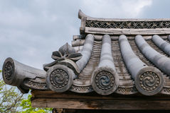 Telhado japonês tradicional Imagens de Stock