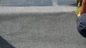 Telhado macio Colocando o material de telhado, material telhando filme