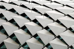 Telhado metálico Imagem de Stock