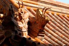 Telhado ornamentado Fotografia de Stock Royalty Free