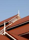 Telhado sob o céu azul Imagem de Stock