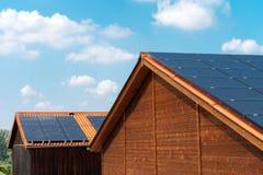 Telhado solar Imagens de Stock