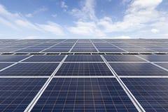 Telhado solar do picovolt Foto de Stock Royalty Free