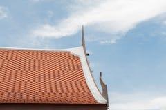 Telhado tailandês fotos de stock royalty free