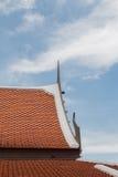 Telhado tailandês Fotografia de Stock