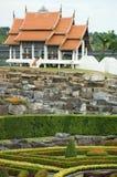 Telhado tailandês Foto de Stock