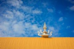 Telhado tailandês do templo Imagem de Stock Royalty Free