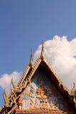 Telhado tailandês do templo Fotografia de Stock