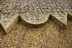 Telhado Thatched imagem de stock