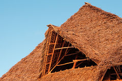 Telhado Thatched Fotografia de Stock Royalty Free