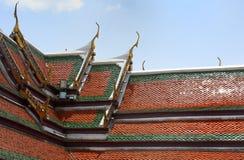 Telhado tradicional Imagem de Stock