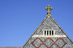 Telhado velho da igreja Fotografia de Stock