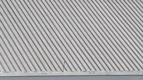 Telhado velho sujo da textura do metal Imagens de Stock