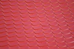 Telhado vermelho Imagens de Stock Royalty Free
