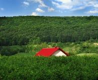 Telhado vermelho Foto de Stock